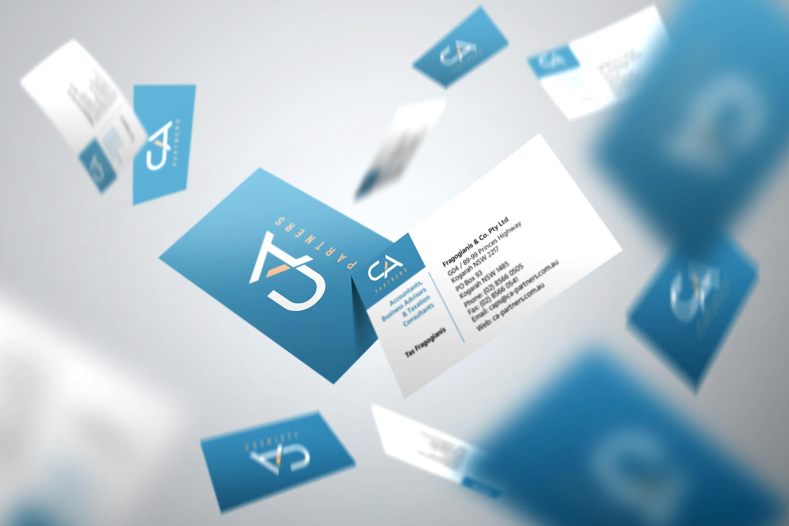 business cards, stationery graphic design service for lawyers tax accountants by freelance designer metrodesign bexley kogarah sydney